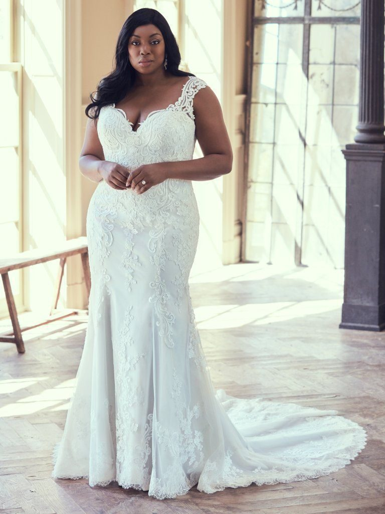Plus Size Wedding Dresses That Celebrate Your Curves From Maggie