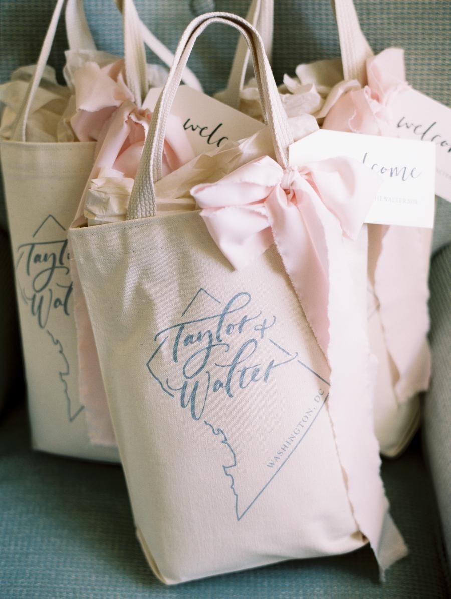 Love Island Personalised Tote Bag Fun Pink Font