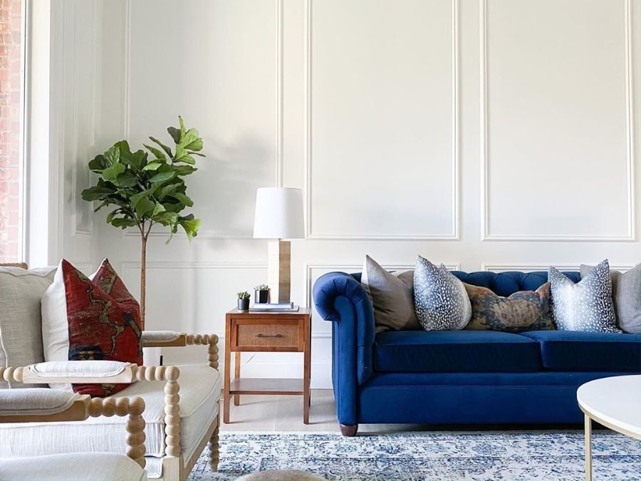 Trend Report: Blue and White