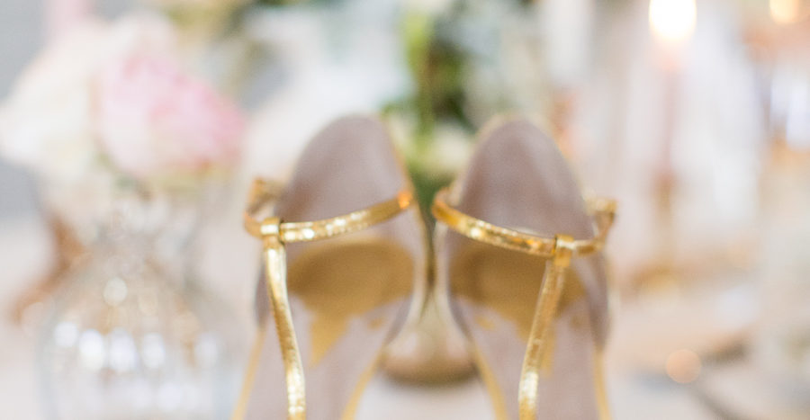 Peach + Gold Luxury Wedding Inspiration