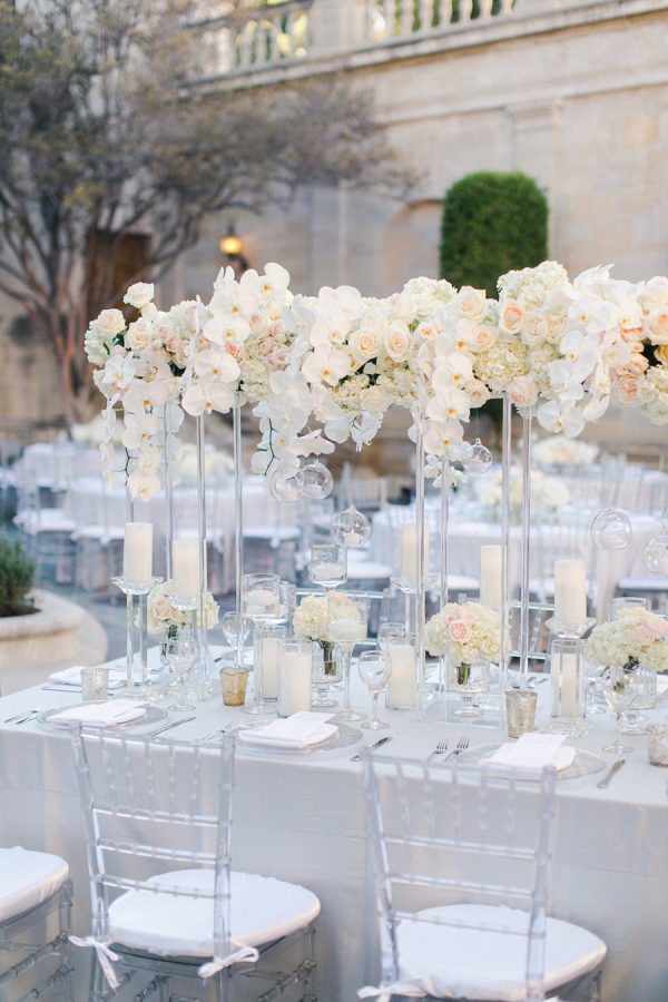A Regal Beverly Hills Wedding At Greystone Mansion Dripping In Orchids