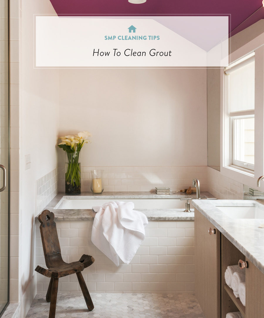 I can proudly adore the bright white grout (and keep it that way) with these natural home remedies from Francesca Clarke.
