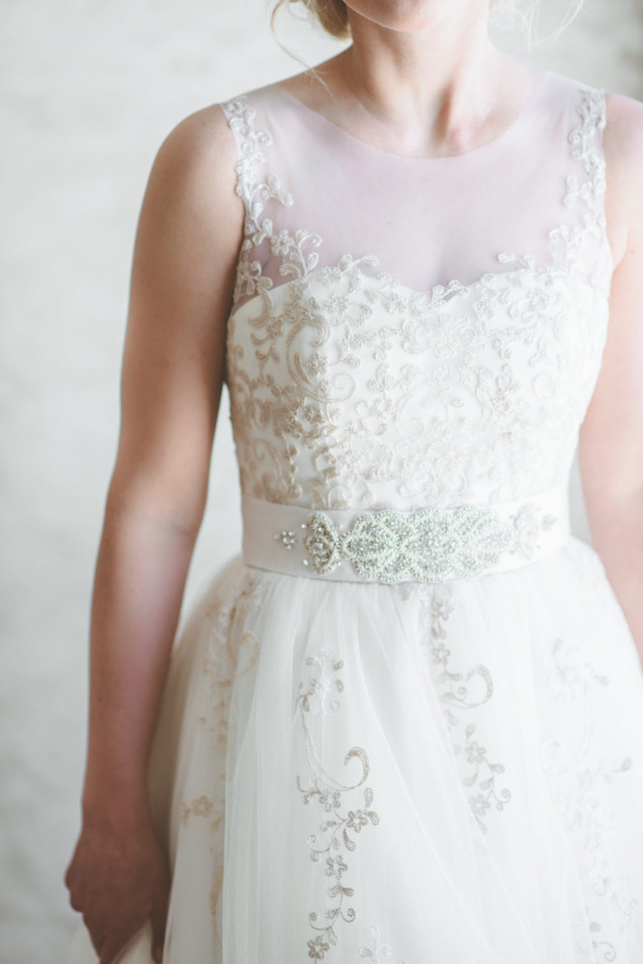 The 35 Most Beautiful Bedazzled Wedding Dresses